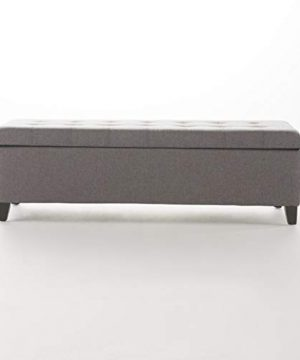 Christopher Knight Home Mission Fabric Storage Ottoman Grey 0 3 300x360