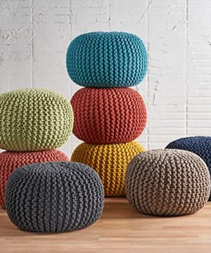 Christopher Knight Home Moro Fabric Pouf Grey 0 2 300x360