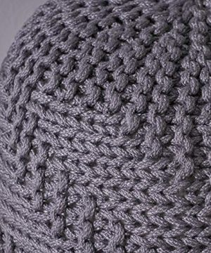 Christopher Knight Home Moro Fabric Pouf Grey 0 4 300x360