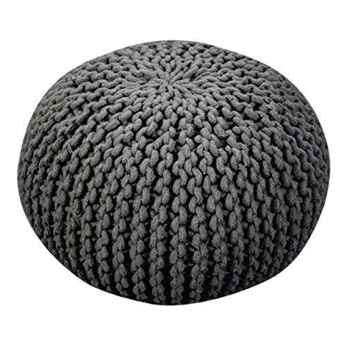Christopher Knight Home Moro Fabric Pouf Grey 0