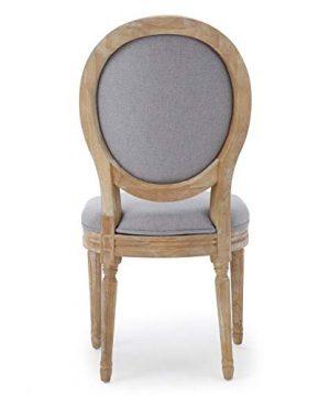 Christopher Knight Home Phinnaeus Fabric Dining Chairs 2 Pcs Set Light Grey 0 1 300x360