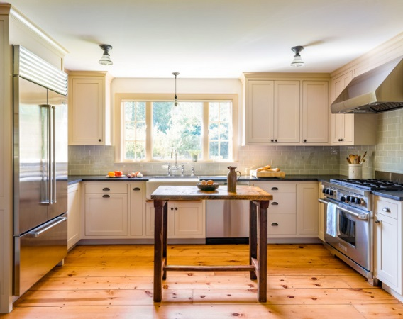 Farmhouse Kitchen by Carpenter & MacNeille