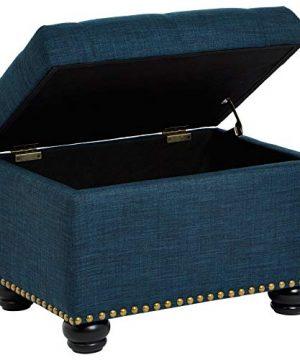 Frist Hill Storage Ottoman Blue Linen 0 300x360