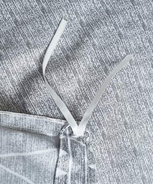 HYPREST Bohemian Twin Duvet Cover Set Lightweight Soft Grey Comforter Cover Set Hotel Quality 0 3 300x360