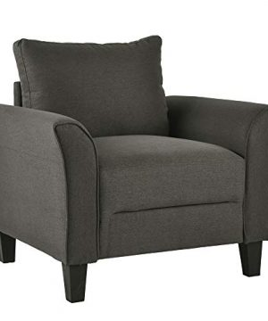Harper Bright Designs Living Room Furniture Set Of 3 Small Armrest Chair Loveseat 3 Seat Sofa Couch Set Dark Grey 0 3 300x360
