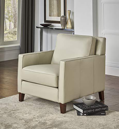 Hydeline Ashby 100 Leather Sofa Set Sofa Loveseat Chair Ice 0 2