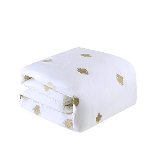 INKIVY Stella Dot Comforter Set FullQueen88x92 Metallic Copper 0 3