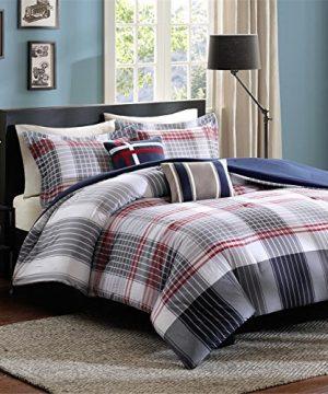 Intelligent Design Caleb 5 Piece Comforter Set FullQueen Blue 0 4 300x360