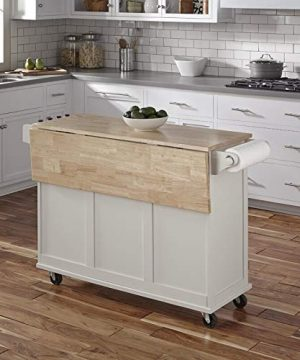 Kitchen Cart With Wood Top 0 0 300x360