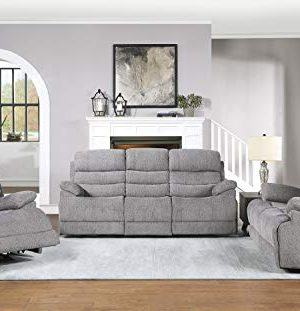 Lexicon Betong 3 Piece Power Sofa Reclining Set Smoke Grey 0 300x311