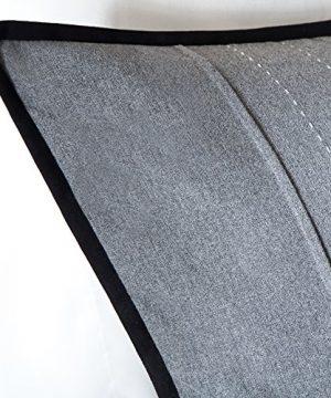 Madison Park Bridgeport 7 Piece Comforter Set Queen 90x90 Black Dark Grey 0 2 300x360