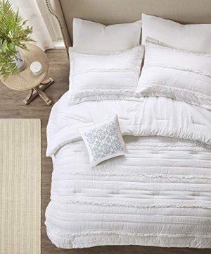 Madison Park Celeste 5 Piece Comforter Set White Queen 0 0 300x360