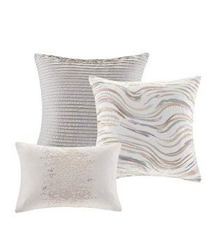 Madison Park Emory 7 Piece Cotton Sateen Comforter Set King104x92 Rose GoldBeige 0 1 300x360