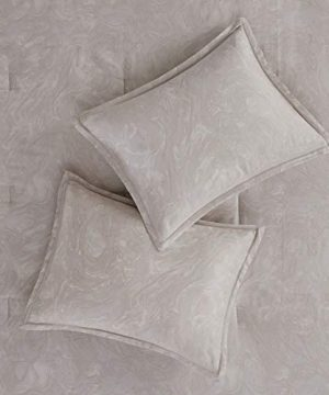 Madison Park Emory 7 Piece Cotton Sateen Comforter Set King104x92 Rose GoldBeige 0 2 300x360