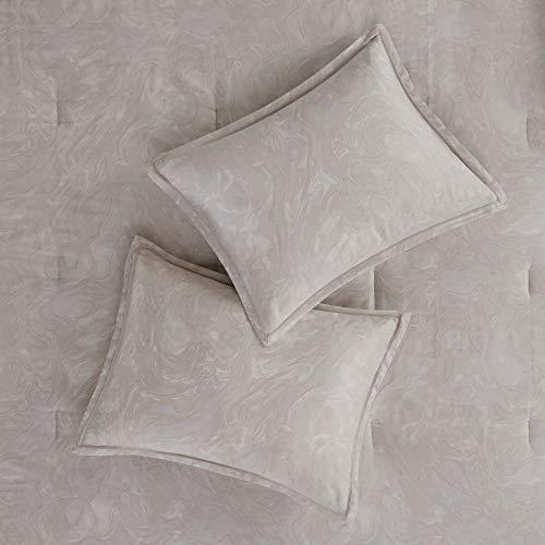 Madison Park Emory 7 Piece Cotton Sateen Comforter Set King104x92 Rose GoldBeige 0 2