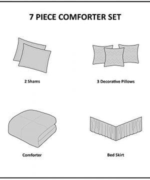 Madison Park Palisades 7 Piece Comforter Set Blue Queen 0 4 300x360