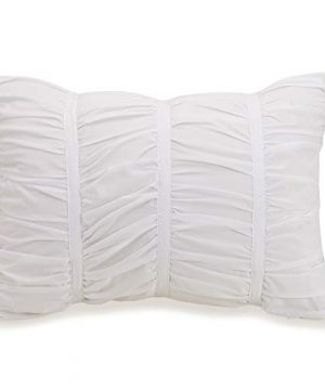 Modern Heirloom Collection Emily Texture Comforter Set Full Queen White 0 4 300x360