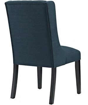 Modway Baronet Modern Tufted Upholstered Fabric Parsons Kitchen And Dining Room Chair In Azure 0 1 300x360