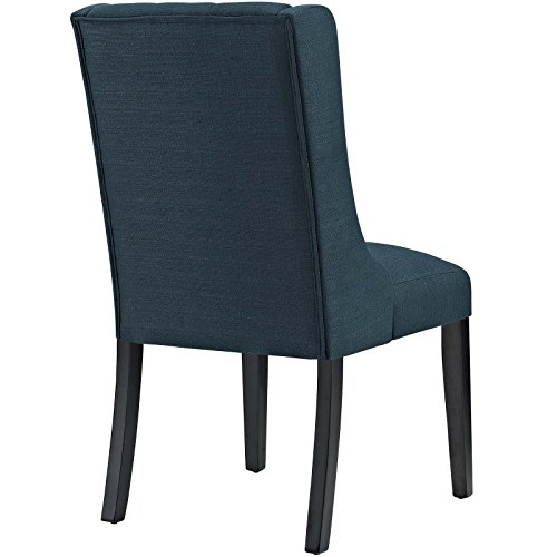 Modway Baronet Modern Tufted Upholstered Fabric Parsons Kitchen And Dining Room Chair In Azure 0 1