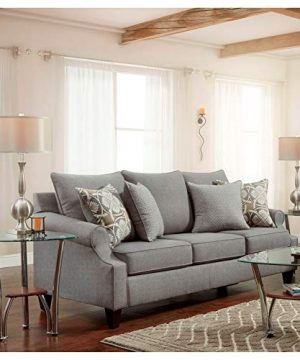 Overstock SofaTrendz Brinkley 2 Piece Grey Sofa And Loveseat 0 0 300x360