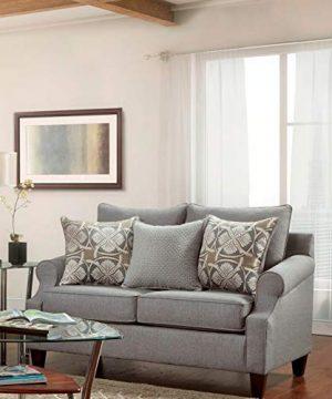 Overstock SofaTrendz Brinkley 2 Piece Grey Sofa And Loveseat 0 1 300x360
