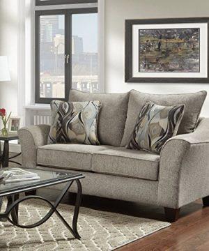 Roundhill Furniture Camero Sofa And Loveseat Set 0 1 300x360