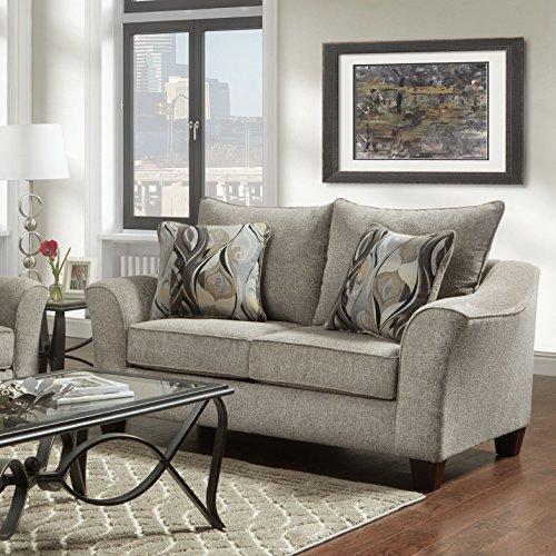 Roundhill Furniture Camero Sofa And Loveseat Set 0 1