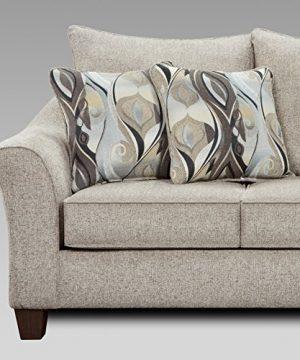 Roundhill Furniture Camero Sofa And Loveseat Set 0 2 300x360