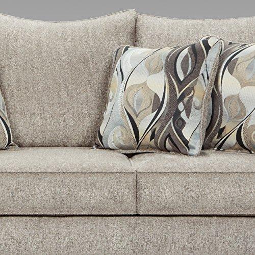 Roundhill Furniture Camero Sofa And Loveseat Set 0 3