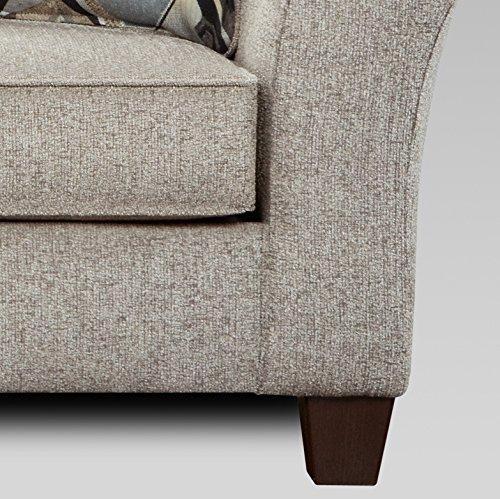 Roundhill Furniture Camero Sofa And Loveseat Set 0 4