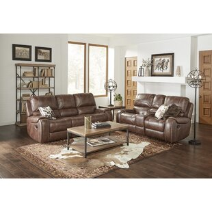 Stampley+Leather+Air+Manual+Reclining+Living+Room+Set