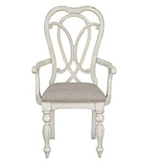 Standard Furniture Giovanni Arm Dining Chair White 0 0 300x334