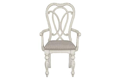 Standard Furniture Giovanni Arm Dining Chair White 0 0