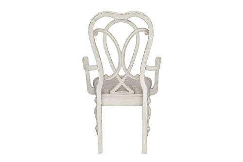 Standard Furniture Giovanni Arm Dining Chair White 0 2
