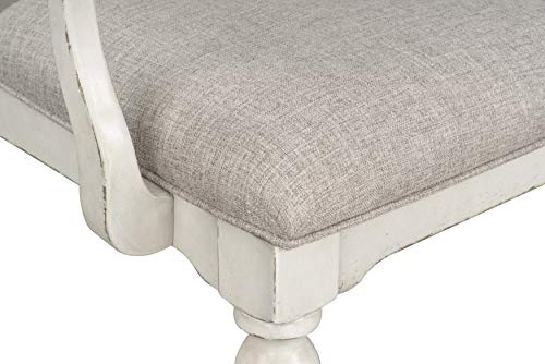 Standard Furniture Giovanni Arm Dining Chair White 0 5