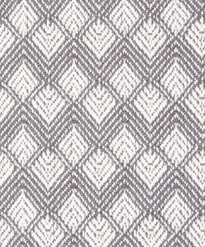 Sticky Toffee Cotton Woven Placemat Set With Fringe Scalloped Diamond 4 Pack Gray 14 In X 19 In 0 4 300x360