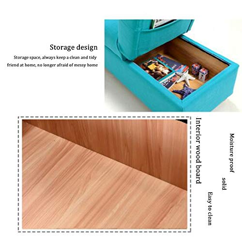 Storage Ottoman With Flipping Lid Foldable Shoe Bench Footstool Max Load Capacity 150 Kg Storage Foot Stool Foldable Storage Ottoman Color Brown Size 120x45x41cm 0 0