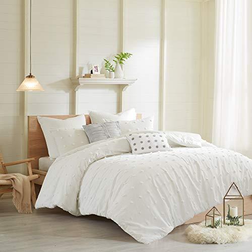 Urban Habitat Brooklyn Comforter Set FullQueen88x92 Ivory 0 1