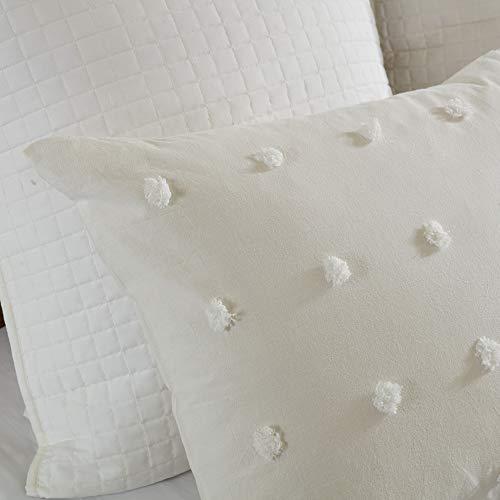 Urban Habitat Brooklyn Comforter Set FullQueen88x92 Ivory 0 3