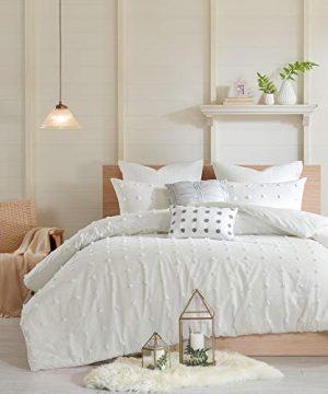 Urban Habitat Brooklyn Comforter Set FullQueen88x92 Ivory 0 300x360