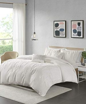 Urban Habitat Paloma Cotton Comforter Set FullQueen Grey 0 1 300x360