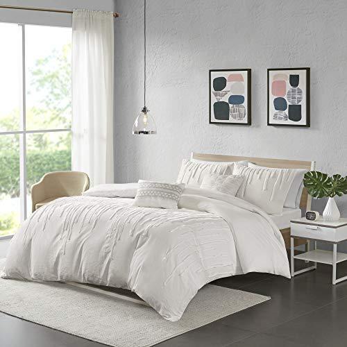 Urban Habitat Paloma Cotton Comforter Set FullQueen Grey 0 1