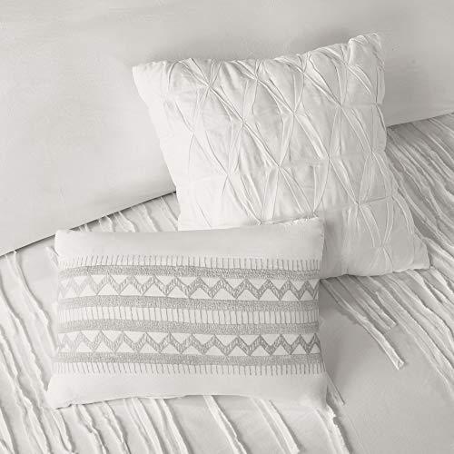 Urban Habitat Paloma Cotton Comforter Set FullQueen Grey 0 2