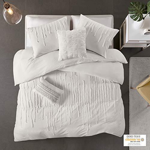 Urban Habitat Paloma Cotton Comforter Set FullQueen Grey 0