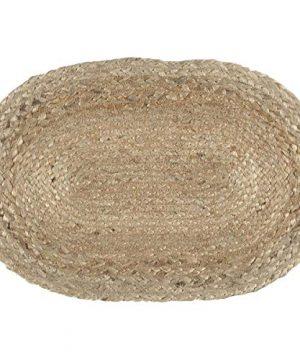 VHC Brands Coastal Farmhouse Tabletop Kitchen Jute Placemat Set Of 6 12 X 18 Natural Tan 0 0 300x360