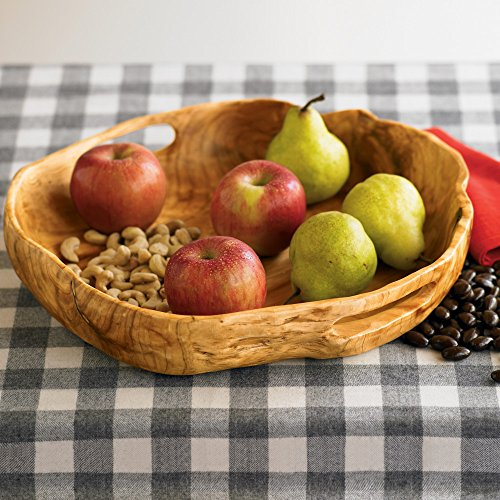 Vivaterra Rustic Root Of The Earth Serving Tray 3 H X 16 Diameter 0 0