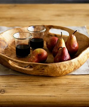 Vivaterra Rustic Root Of The Earth Serving Tray 3 H X 16 Diameter 0 2 300x360