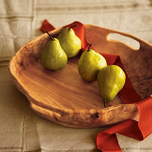 Vivaterra Rustic Root Of The Earth Serving Tray 3 H X 16 Diameter 0