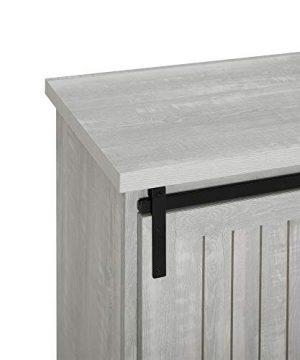 WE Furniture Modern Farmhouse Buffet Entryway Bar Cabinet Storage 32 Inch Grey 0 1 300x360