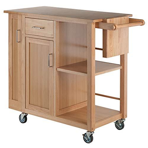 Winsome Douglas Cart Kitchen Natural 0 0